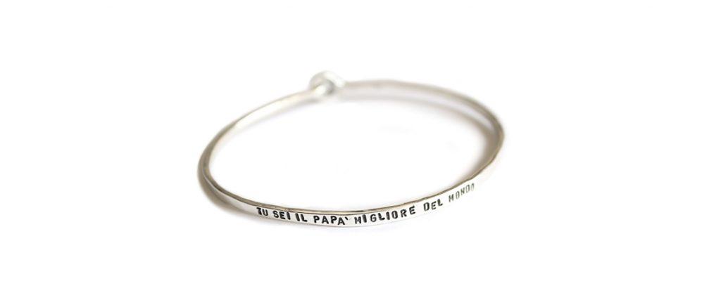 braccialetto inciso